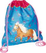 Die Spiegelburg Turnbeutel Mein kleiner Ponyhof, blau