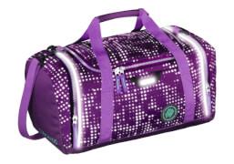 Coocazoo Sporttasche SporterPorter Purple Galaxy Reflective