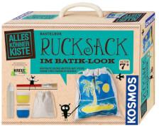 Kosmos Rucksack im Batik-Look