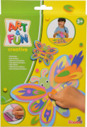 Art & Fun Filzsticker Schmetterling