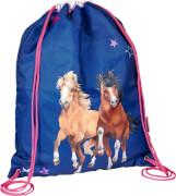 Die Spiegelburg 15271 Pferdefreunde - Sportbeutel, blau