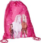 Die Spiegelburg 15395 Pferdefreunde - Sportbeutel, pink