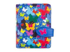 Geldbörse Schmetterlinge blau New material(2)