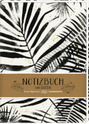 Notizbuch Punkte - All about black & white