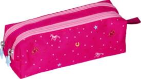Stifte-Etui Pferdefreunde  pink