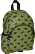kleine Rucksack Dinos oliv  Glühwürmchen