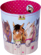 Papierkorb Pferdefreunde