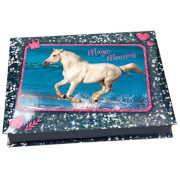 Depesche 8930 Horses Dreams Schreibwarenbox,  Motiv 1, blau