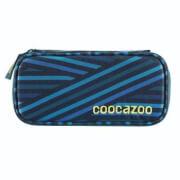 Coocazoo Schlamperetui PencilDenzel, Zebra Stripe Blue