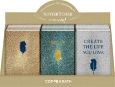 Notizbücher mit Metallic-Einband - BücherLiebe, sortiert nicht frei wählbar