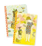 DinA6+ Notizbücher: Elodie