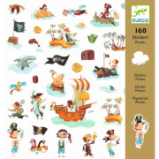 Stickerbögen: Piraten