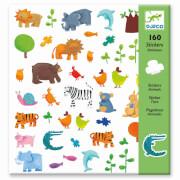 Stickerbögen: Tiere