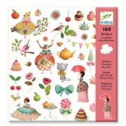 Stickerbögen: Teeparty der Prinzessin