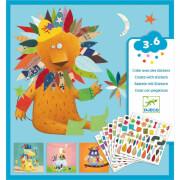 Sticker 3-6: Stickerbild Tiere