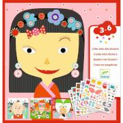 Sticker 3-6: Stickerbild alle anders
