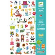 Stickerbögen: 1000 Sticker für die Kleine