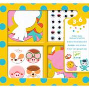 Sticker: Ich liebe Tiere