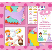 Sticker: Ich liebe Prinzesinnen