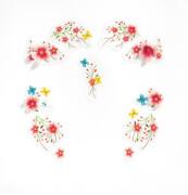 Gesichtssticker: Springtime fairy