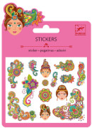 Mini Sticker: Indian designs