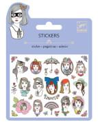 Mini Sticker: Portraits