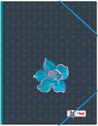McNeill Gummizugmappe A4 FLOWER