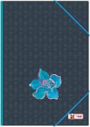 McNeill Gummizugmappe A3 FLOWER
