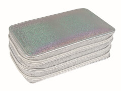 Eberhard Faber Triple Decker Glitter silber 29tlg befüllt