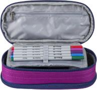 Etui Box YZEA BOX mit Zirkelfach STYLE anthrazit/pink