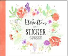 Stickerbuch: Etiketten & Sticker (Das Leben ist bunt)