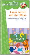 miniLÜK Lesen lernen mit der Maus, Lernheft, 29 Seiten, von 5 - 7 Jahren