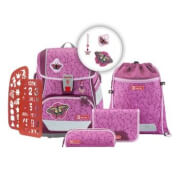 Step by Step 2IN1 PLUS Schulranzen-Set Natural Butterfly, 6-teilig