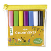 Mini-Kreidemarker Set gelb