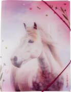Sammelmappe A4 mit 3D-Effekt Pferdefreunde