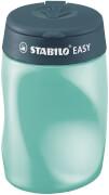 Ergonomischer Dosen-Spitzer für Linkshänder - STABILO EASYsharpener - 3 in 1 - petrol