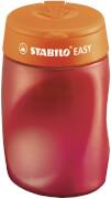 Ergonomischer Dosen-Spitzer für Rechtshänder - STABILO EASYsharpener - 3 in 1 - orange