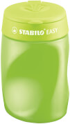 Ergonomischer Dosen-Spitzer für Rechtshänder - STABILO EASYsharpener - 3 in 1 - grün