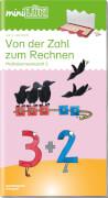 miniLÜK Von der Zahl zum Rechnen, Lernheft, 29 Seiten, von 5 - 7 Jahren