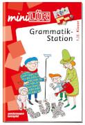 miniLÜK Grammatikstation 1./2. Klasse, Lernheft, 33 Seiten, von 6 - 8 Jahren