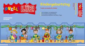 Puzzle LÜK: Tl.5 Kindergeburtstag, Lernspiel, von 4 - 6 Jahren