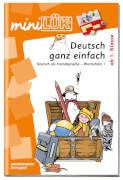 mini LÜK Deutsch ganz einfach - Wortsch