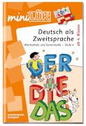 mini LÜK Deutsch als Zweitsprache. Wortschatz und Grammatik - Stufe 4