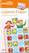 mini Lük Logische Folgen, Lernheft, 32 Seiten, von 6 bis 8 Jahren