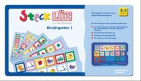SteckLÜK - Übungsblock ''Kindergarten 1'', 3-4 Jahre, geheftet