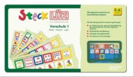 SteckLÜK-Übungsblock ''Vorschule 1: Mathe, Deutsch, Logik'', 5-6 Jahre, geheftet