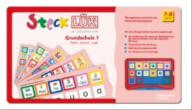SteckLÜK - Übungsblock ''Grundschule 1: Mathe, Deutsch, Logik'', 1.-3. Schuljahr, geheftet
