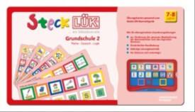 SteckLÜK - Übungsblock ''Grundschule 2: Mathe, Deutsch, Logik'', 1.-3. Schuljahr, geheftet