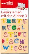 miniLÜK Lesen lernen mit den Alphas 3, Lernheft, 32 Seiten, von 4 - 6 Jahren