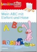 bambinoLÜK ABC mit Elefant und Hase